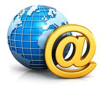 E-mail and internet communication concept Piirros