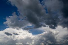 Ominous Clouds Stock Photos