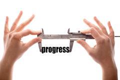 Progress - stock photo