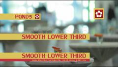 Smooth Lower Third Stock After Effects