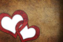 Love grunge textured background Stock Illustration