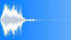 Machete Hit Flesh Sound Effect