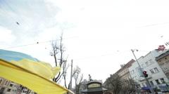 UKRAINE, LVIV, 2014: Stock Footage