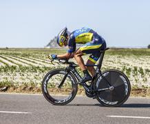 The Cyclist Roman Kreuziger - stock photo