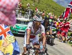 The Cyclist Yukiya Arashiro - stock photo