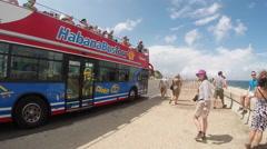 Habana Bus Tours - Havana Cuba Stock Footage