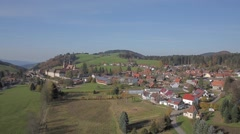 Black Forest Monastery Sankt Peter Stock Footage
