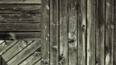 Old Barn wood boards loop Stock Footage