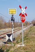 Railway signs Kuvituskuvat
