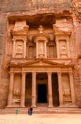 Stock Photo of Jordan, Petra. Treasury