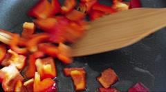 Homemade vegan food Stock Footage