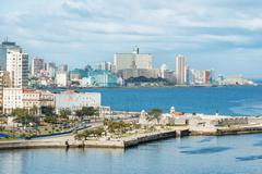 The city of Havana on a beautiful day Stock Photos