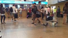 BANGKOK THAILAND Don Mueang International Airport Stock Footage