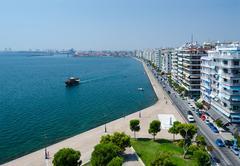 Greece, Thessaloniki, embankment - stock photo