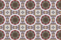 Ethnic pattern. Abstract kaleidoscope fabric design. Stock Photos