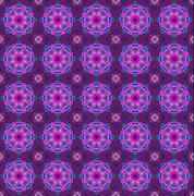 Pink ethnic pattern. Stock Photos