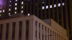 City establishment shot Stock Footage