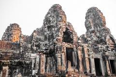 temple Bayon - stock photo