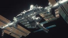 international space station iss 4K v1 - stock footage