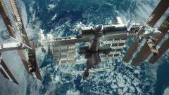 international space station iss 4K v2 - stock footage