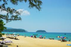 Relax on the beaches of Phuket. Thailand - stock photo