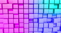 Color Cubes motion background, seamless looping HD Footage