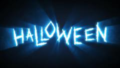 Claw Slashes Halloween Blue - stock footage