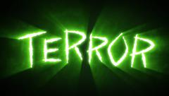 Claw Slashes Terror Green - stock footage