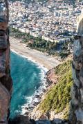Stock Photo of city harbor of Alanya