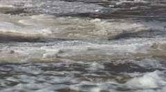 Raging river Stock Footage