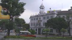 King Rama VII Museum at Bangkok in Thailand - stock footage