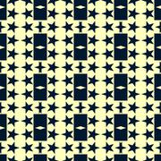Seamless pattern with a stars  - stock illustration