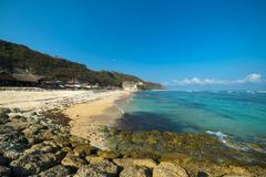 Stock Photo of Pandawa beach