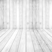 Light white floors wood planks texture background wallpaper. Stand for produc Stock Photos