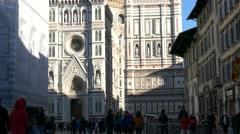4K Italy Tuscany Toscana Florence Cathedral Duomo Santa Maria del Fiore Stock Footage