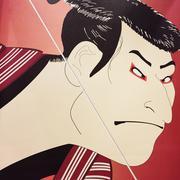 Samurai Art - stock illustration