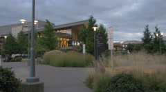 Microsoft campus in Seattle, Washington Stock Footage