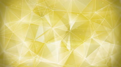 Gold web geometrical background loop 4k (4096x2304) Stock Footage