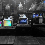 Retro Style TV design - stock photo