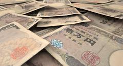 Scattered Banknote Pile Stock Illustration