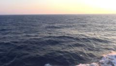 Endless Sea Stock Footage