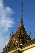 Asia    in  bangkok sunny  temple abstract    and  colors religion      mosai Stock Photos