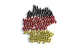 Stock Illustration of Germany Population