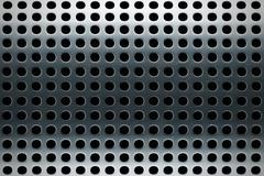 Stock Illustration of perforated stainless steel texture