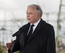 Stock Photo of Jaroslaw Kaczynski  Former Prime Minister of Poland