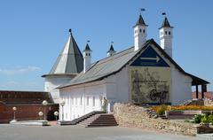 Kazan Kremlin. Southern building of the Artillery court - stock photo