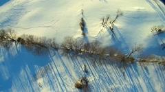 Hudson Valley HD Winter Aerials - stock footage
