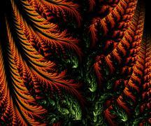 Computer generated fractal artwork Stock Illustration