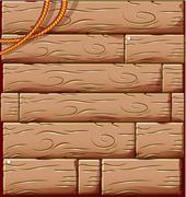 Wood background Stock Illustration