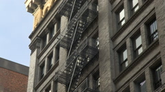 Flatiron Section of New York. NYC Silicon Alley. NYC Tech Sector. Stock Footage
